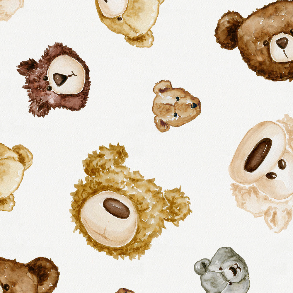 Product image for Teddy Bears Mini Crib Sheet
