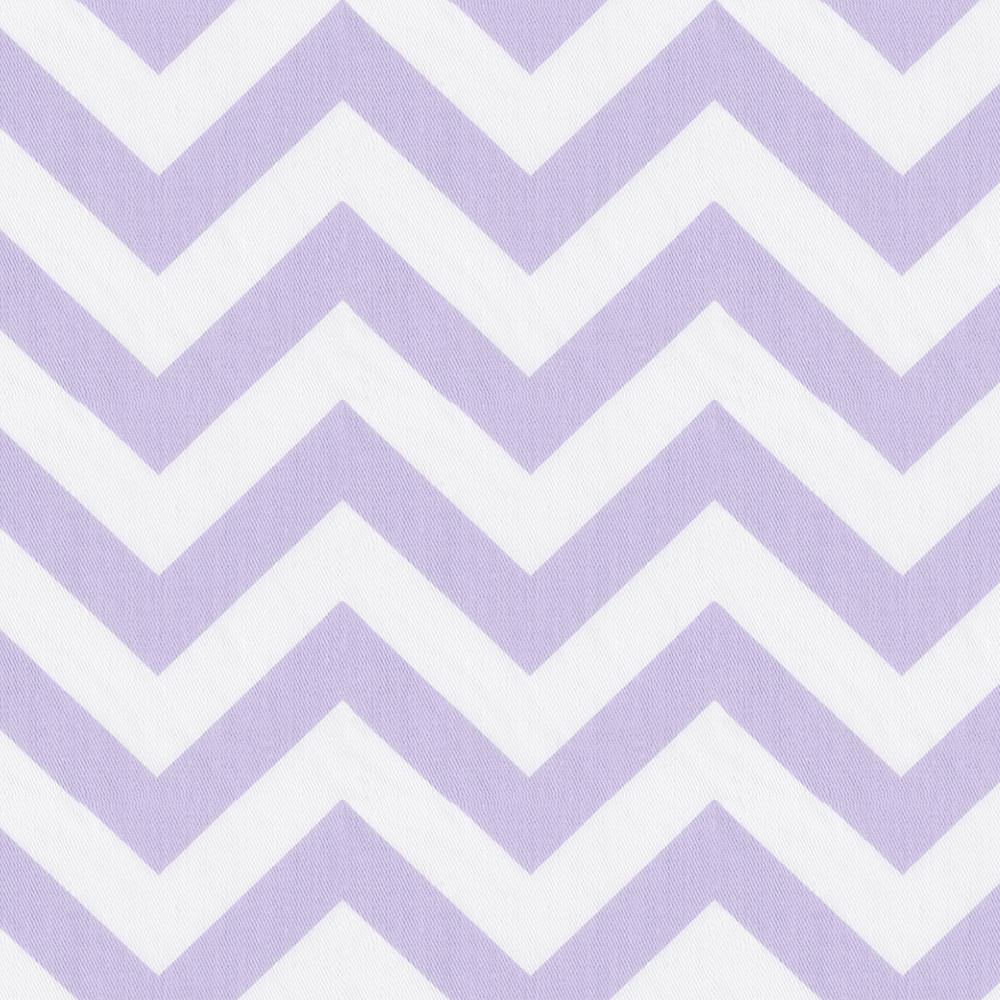 Product image for Lilac and White Zig Zag Toddler Pillow Case with Pillow Insert