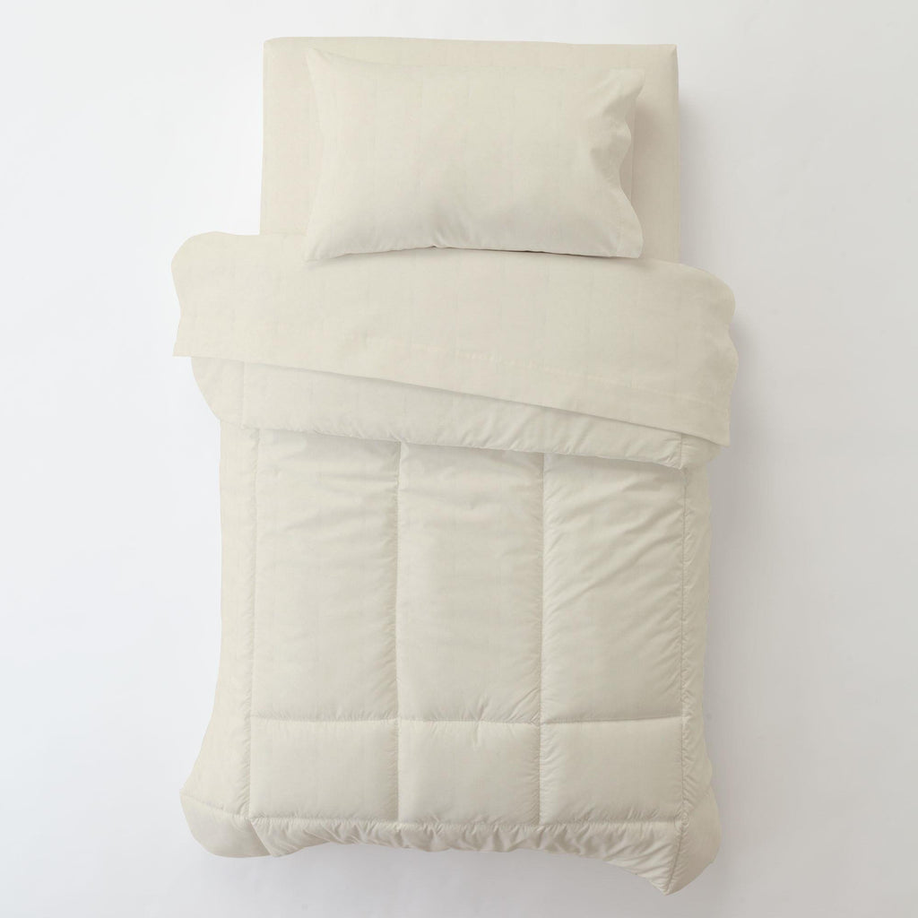 Product image for Solid Ivory Toddler Pillow Case