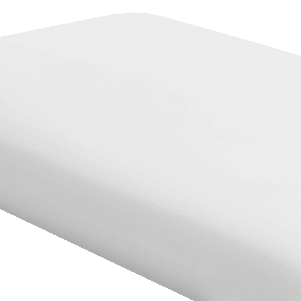 Product image for Solid White Crib Sheet