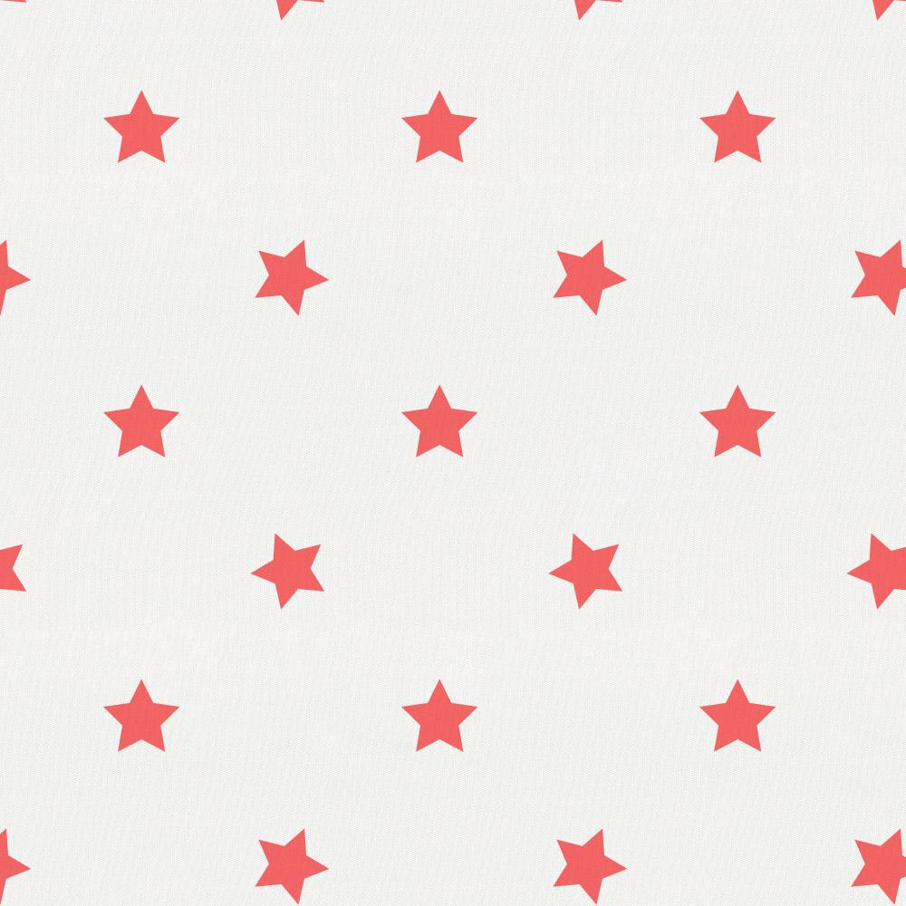 Product image for Coral Stars Crib Skirt Gathered