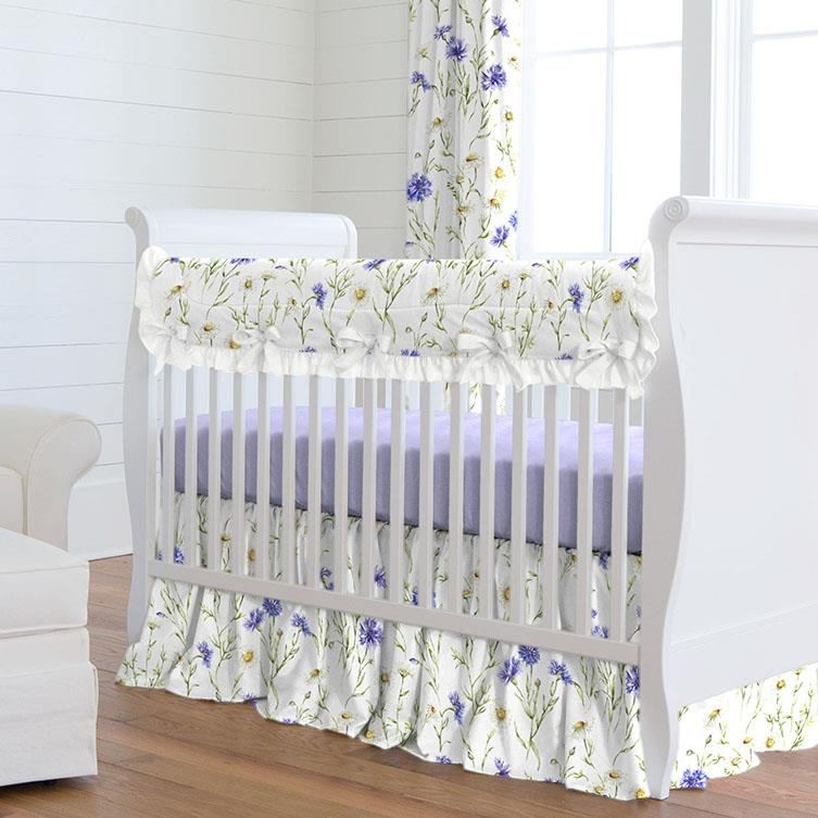 Product image for Cornflower Fields Crib Rail Cover