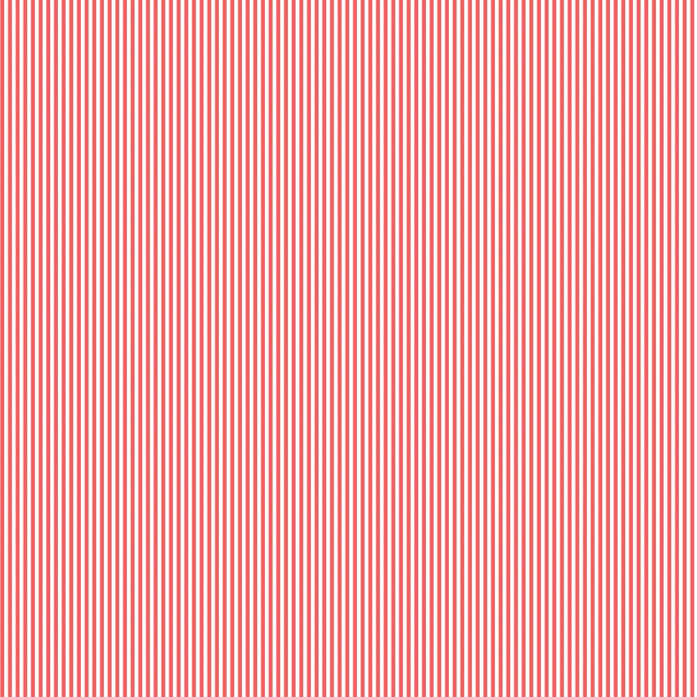 Product image for Coral Mini Stripe Toddler Sheet Bottom Fitted