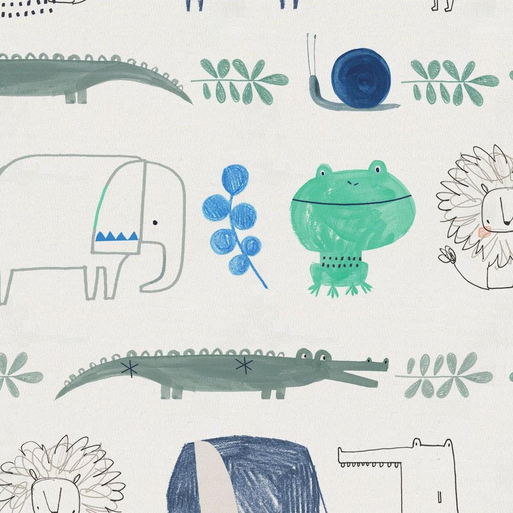 Product image for Safari Friends Toddler Sheet Bottom Fitted