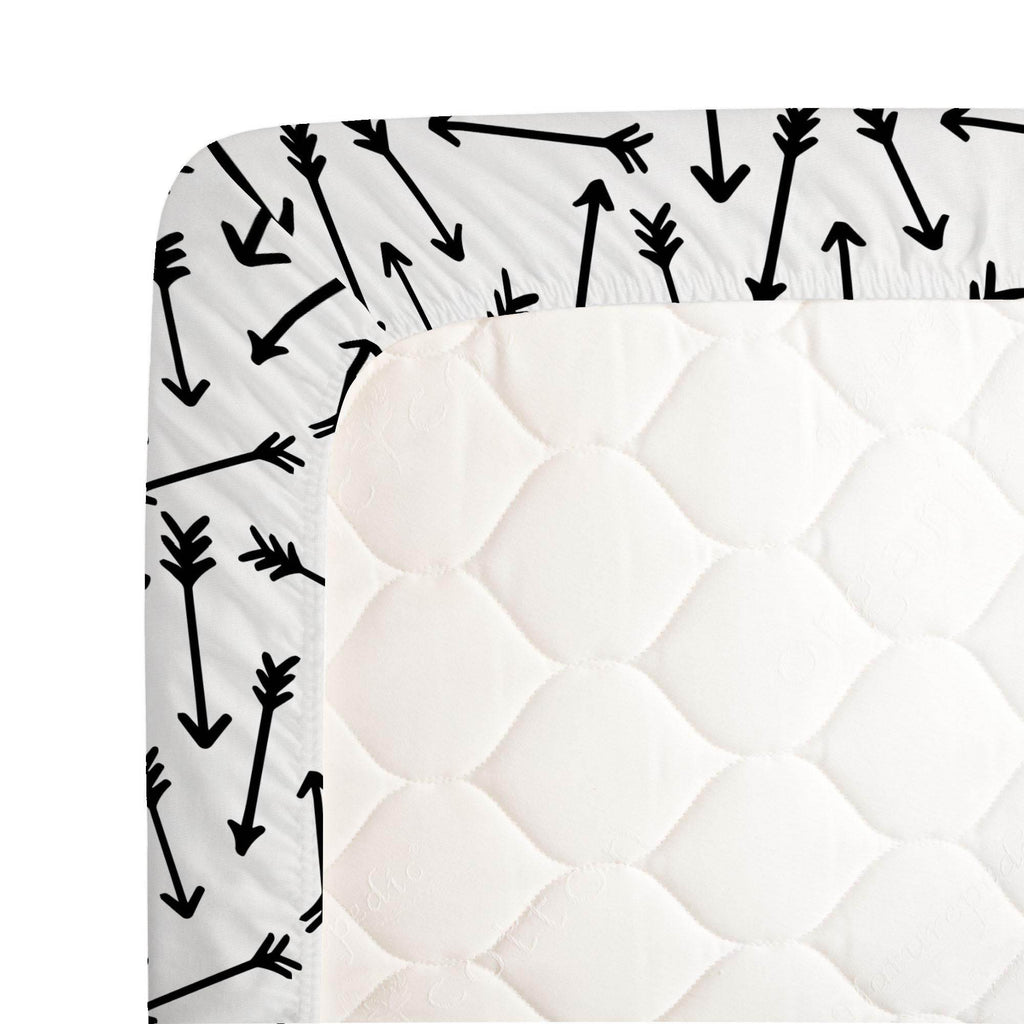 Product image for Onyx Whimsical Arrows Crib Sheet