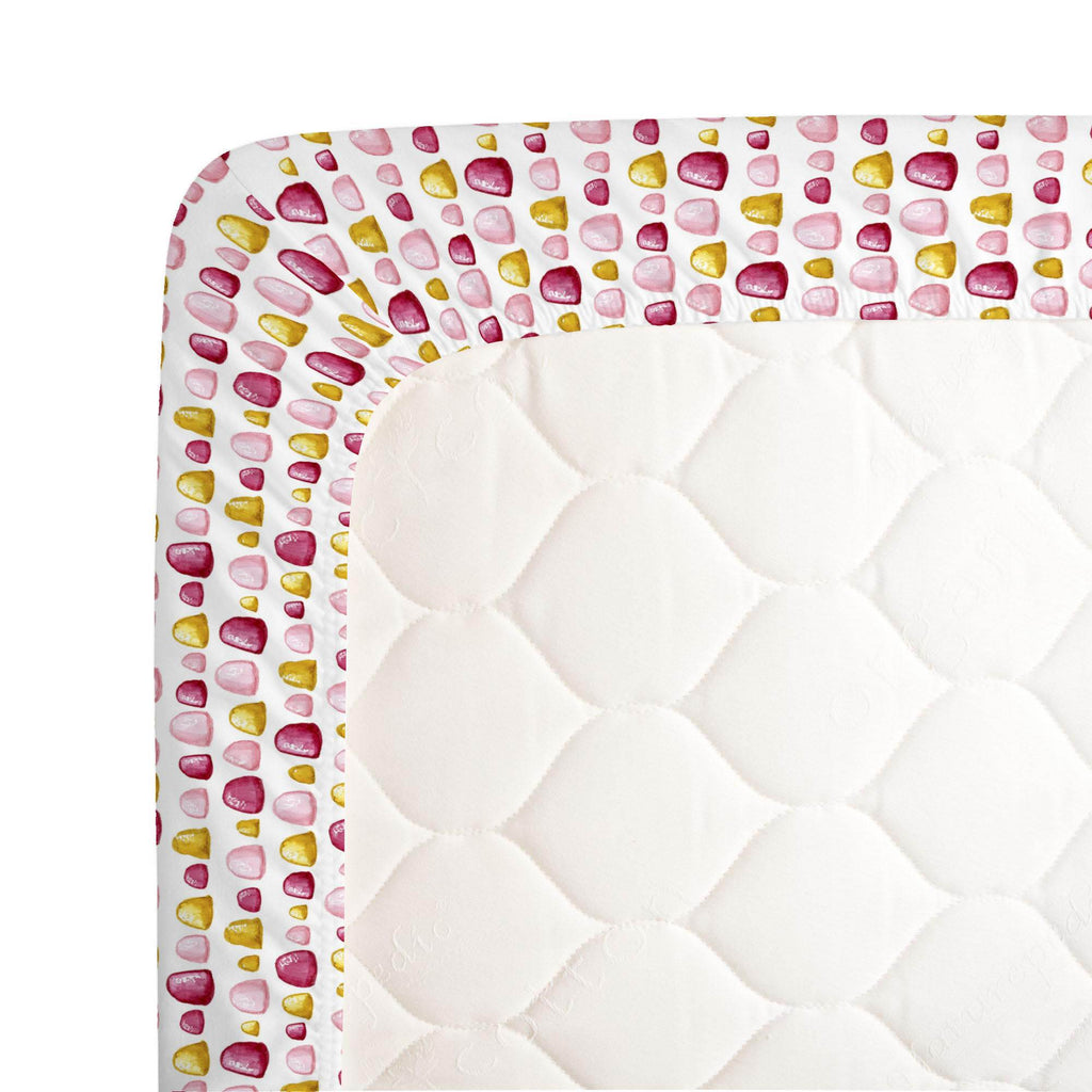 Product image for Painted Gumdrops Crib Sheet