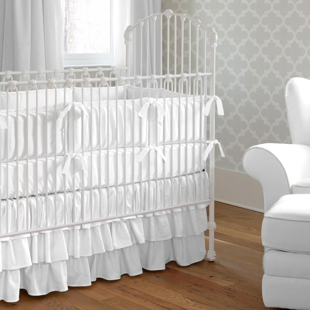 Product image for Solid White Baby Blanket