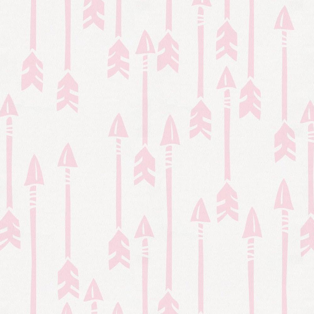 Product image for Pink Flying Arrow Toddler Sheet Bottom Fitted