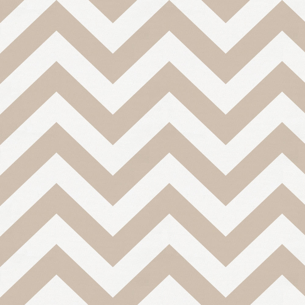 Product image for Taupe Zig Zag Toddler Sheet Bottom Fitted