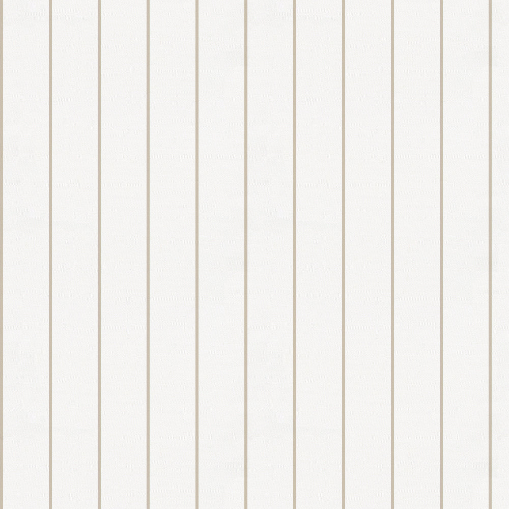 Product image for Taupe Pinstripe Toddler Sheet Bottom Fitted