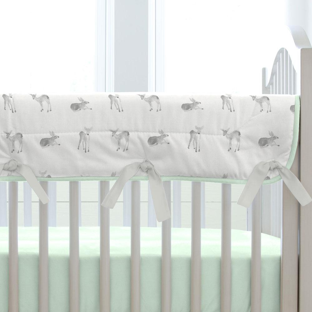 Product image for Silver Gray Fawns Fabric