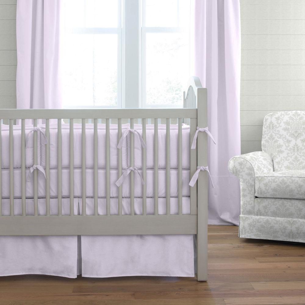 Product image for Solid Lilac Baby Blanket