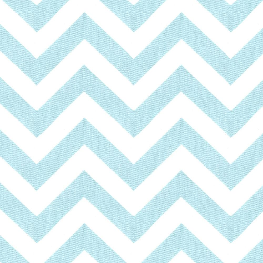 Product image for Mist Zig Zag Toddler Sheet Bottom Fitted