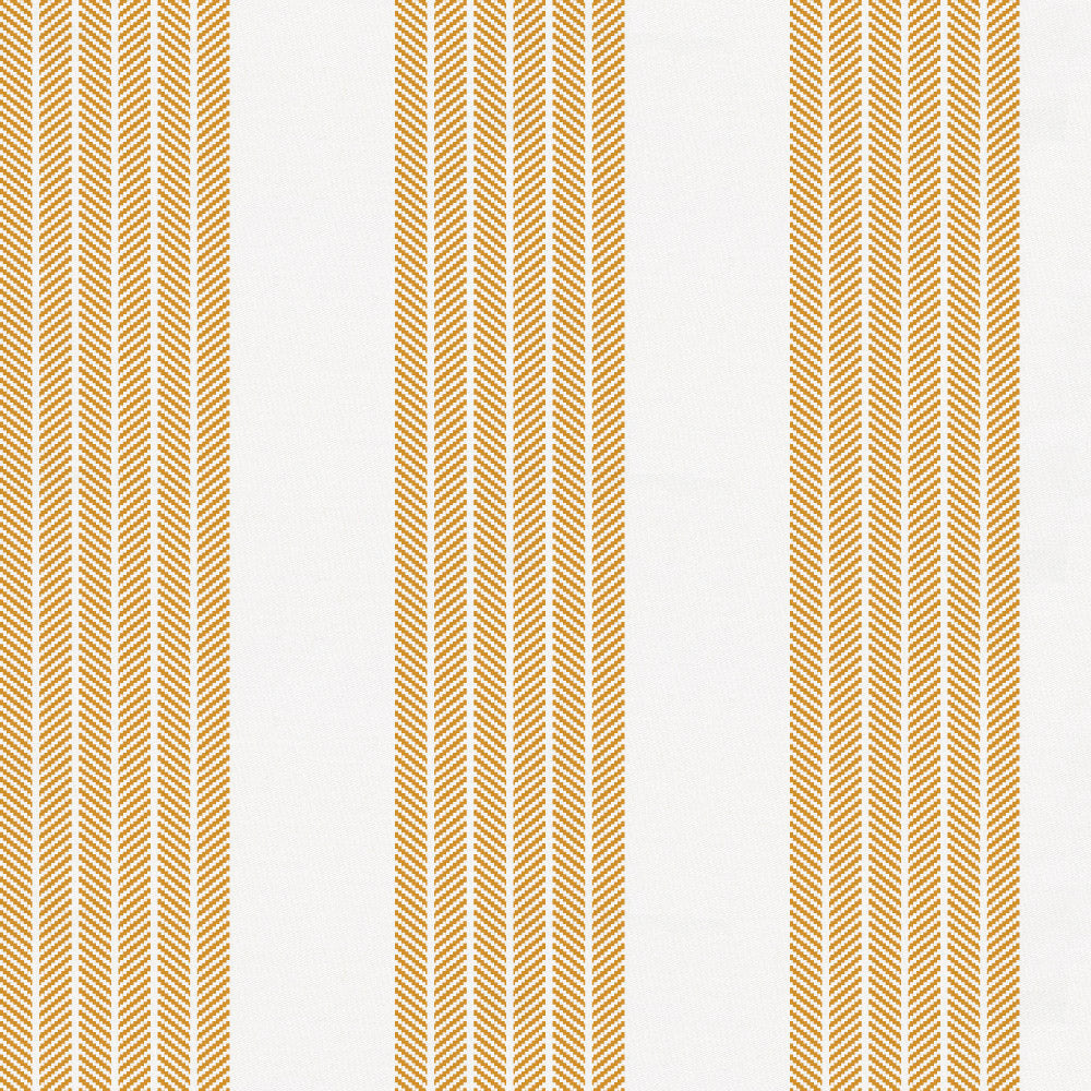 Product image for Mustard Seaside Stripe Toddler Sheet Bottom Fitted