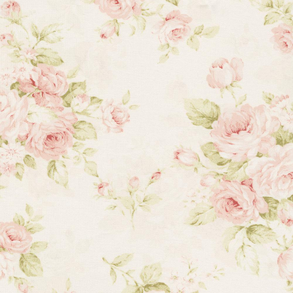 Product image for Pink Floral Crib Rail Cover