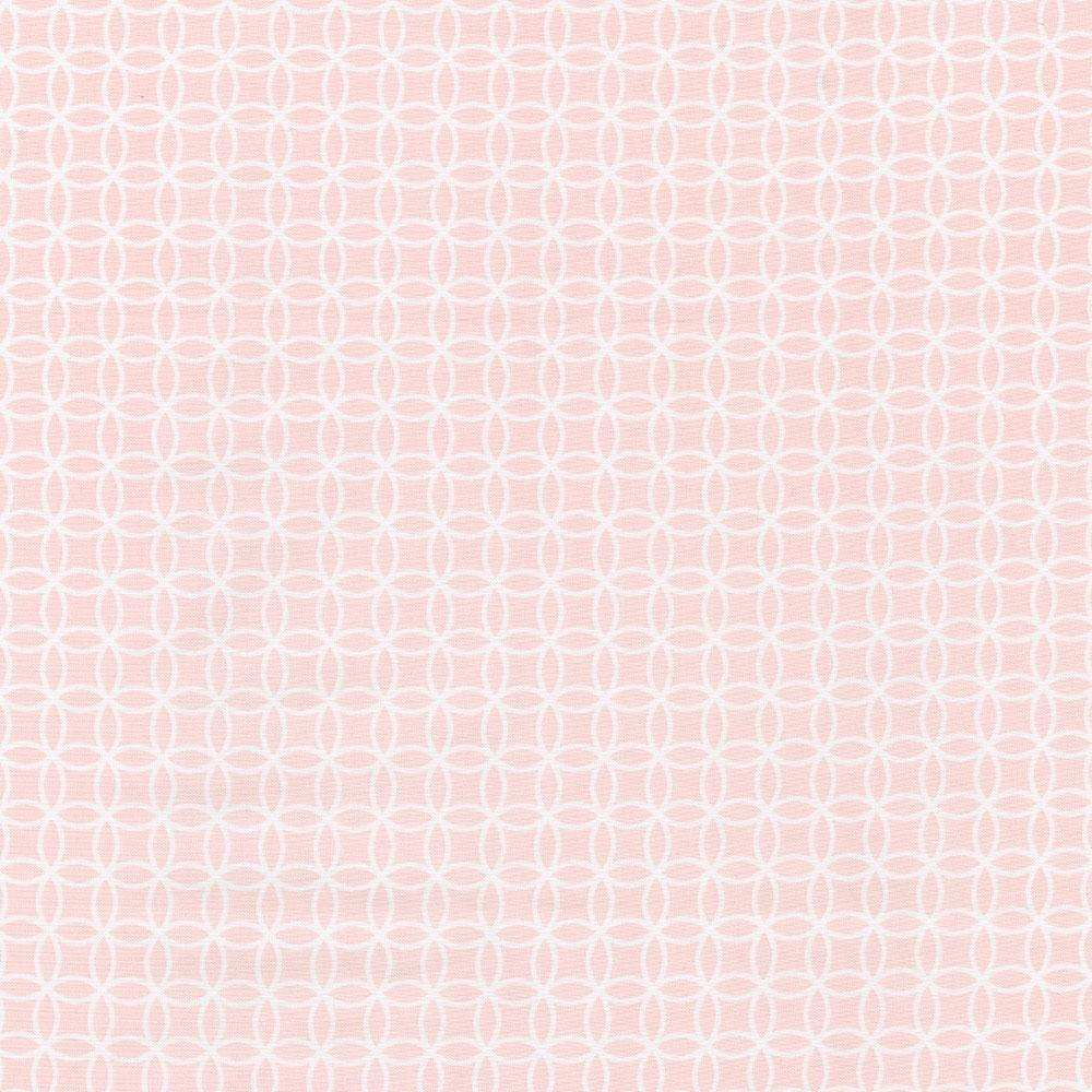 Product image for Pink Circles Toddler Sheet Bottom Fitted