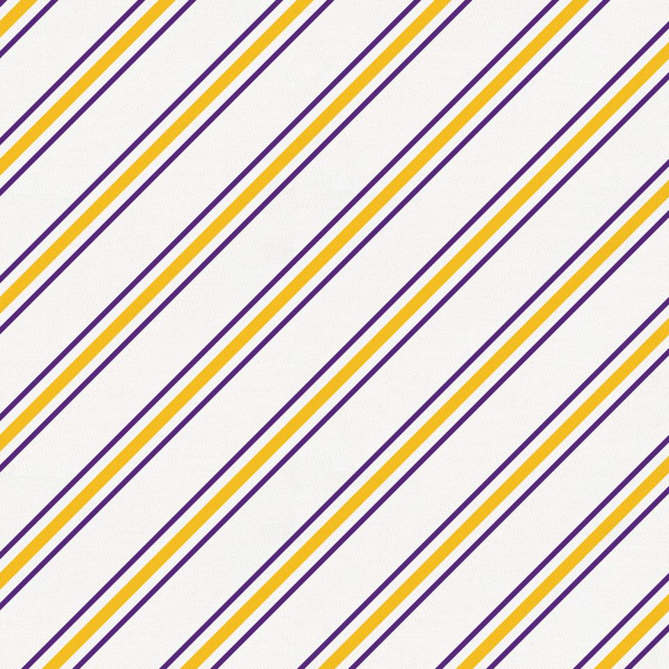Product image for Purple and Yellow Necktie Stripe Toddler Sheet Bottom Fitted