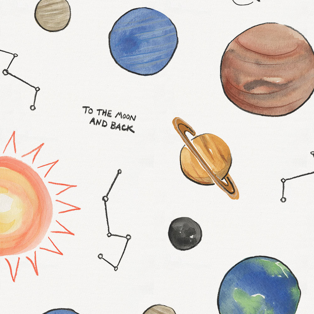 Product image for Solar System Toddler Sheet Bottom Fitted