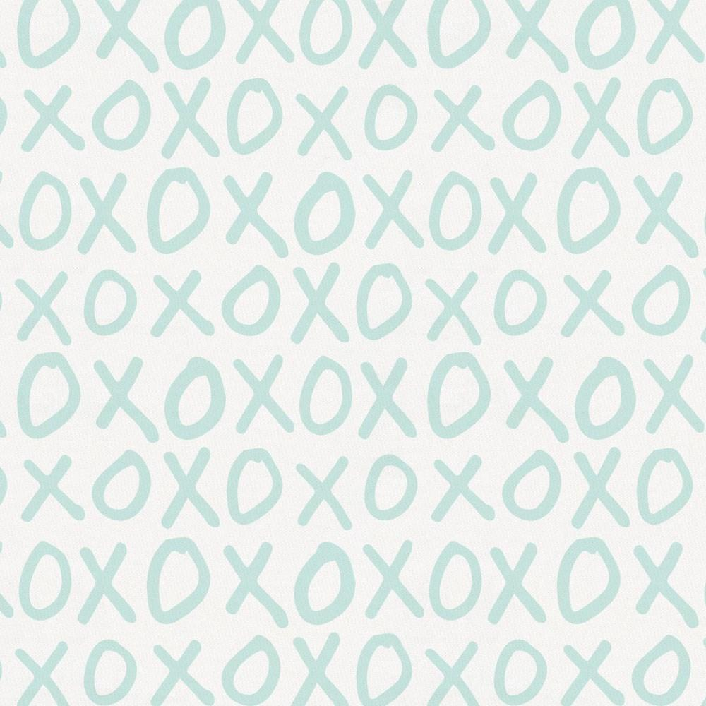 Product image for Icy Mint XO Toddler Sheet Bottom Fitted