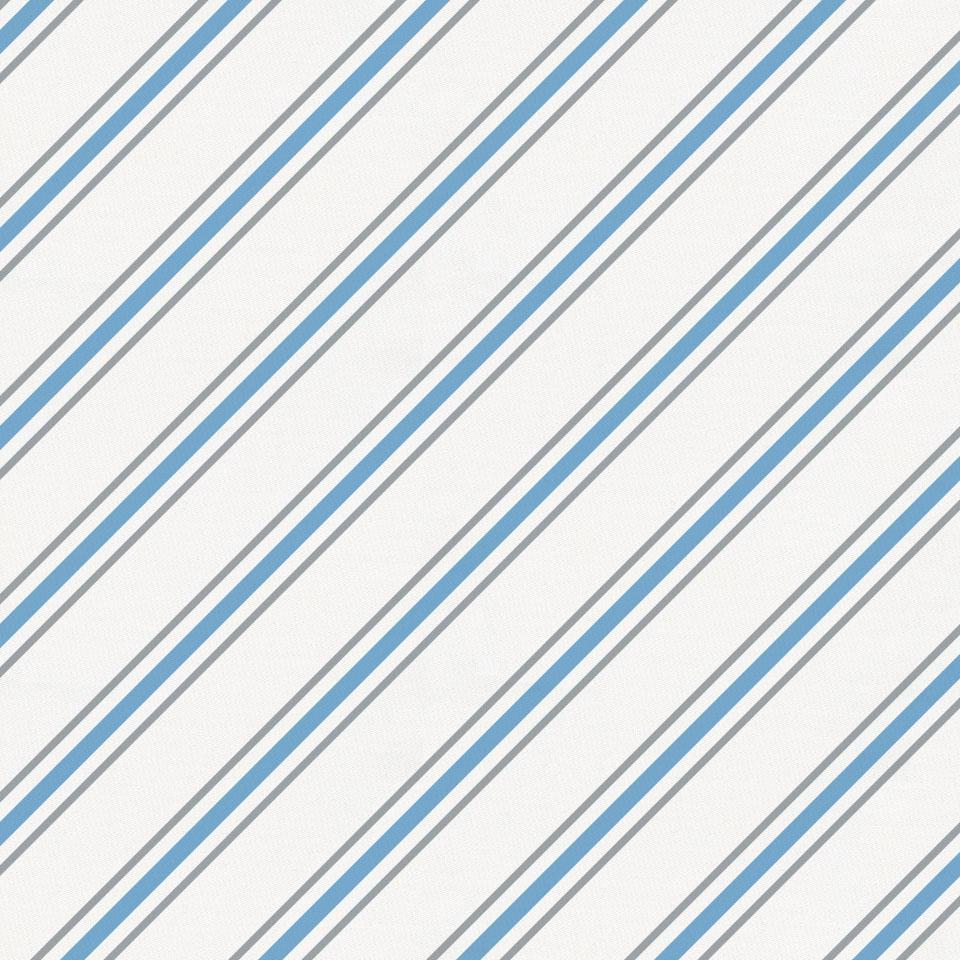 Product image for Gray and Sky Blue Necktie Stripe Toddler Pillow Case