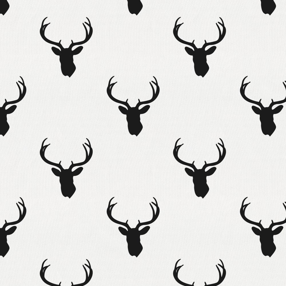 Product image for Onyx Deer Silhouette Toddler Pillow Case