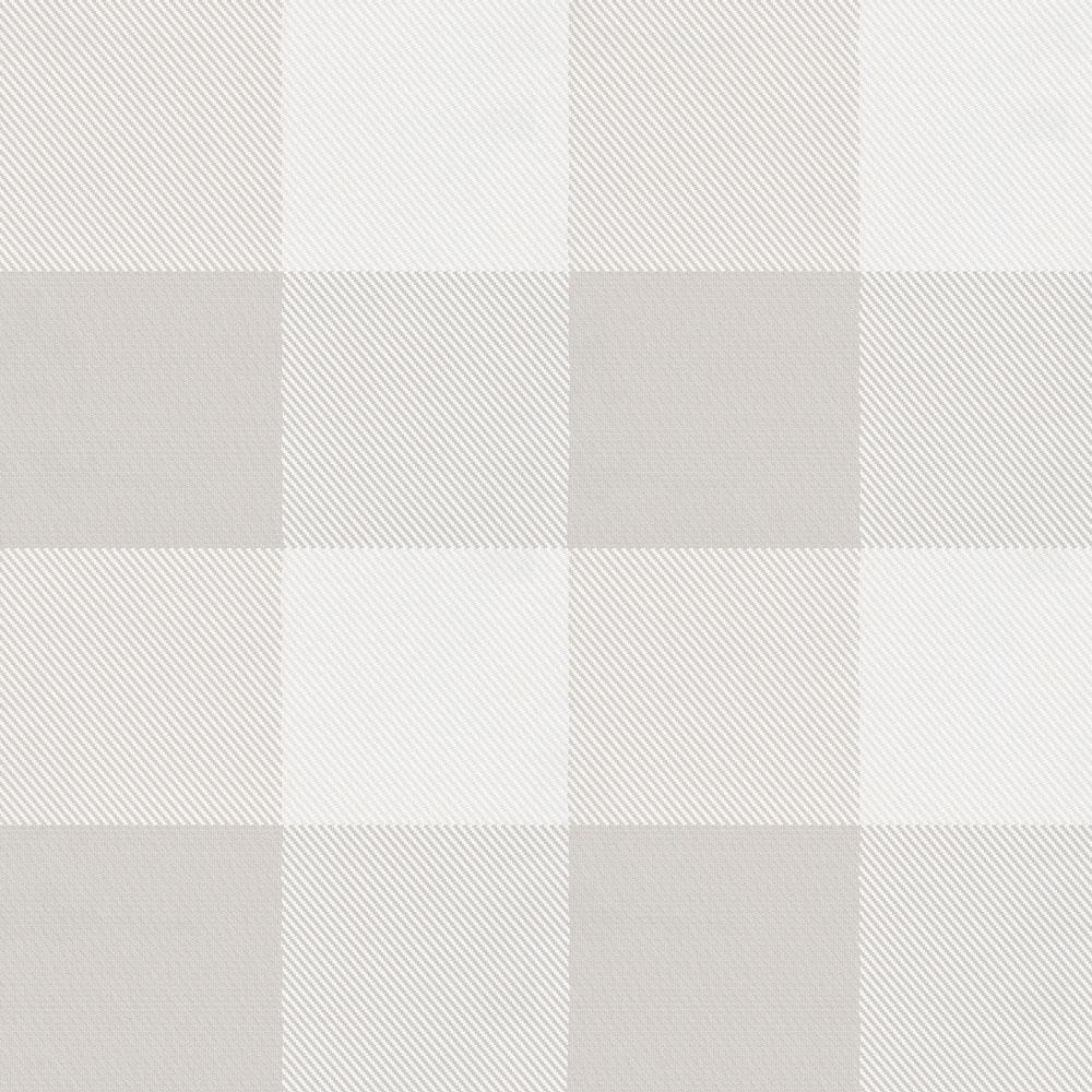 Product image for French Gray and White Buffalo Check Crib Sheet
