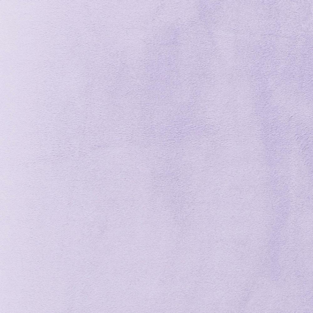 Product image for Solid Lilac Minky Crib Sheet