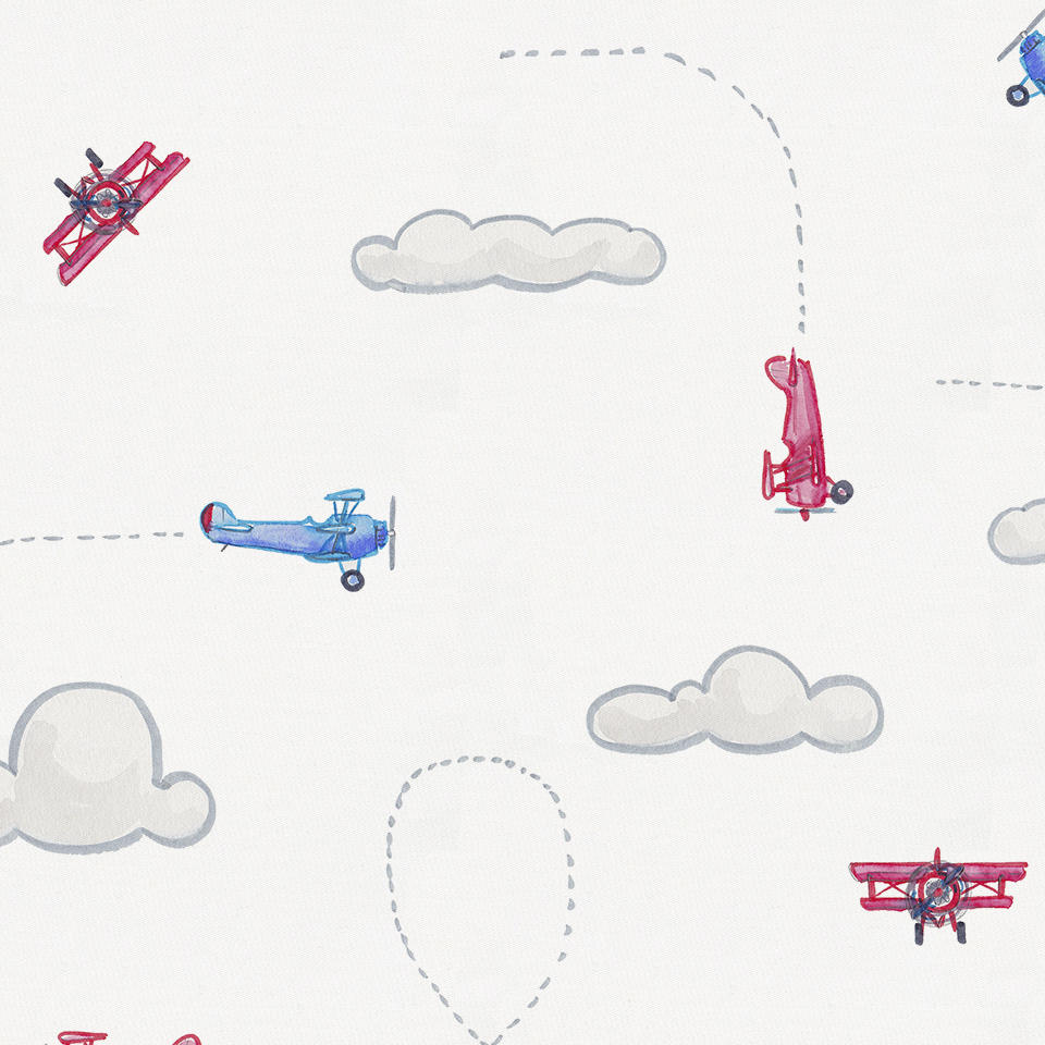Product image for Take Flight Crib Sheet