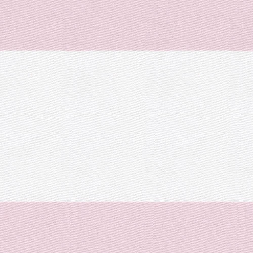 Product image for Pink Horizontal Stripe Baby Blanket