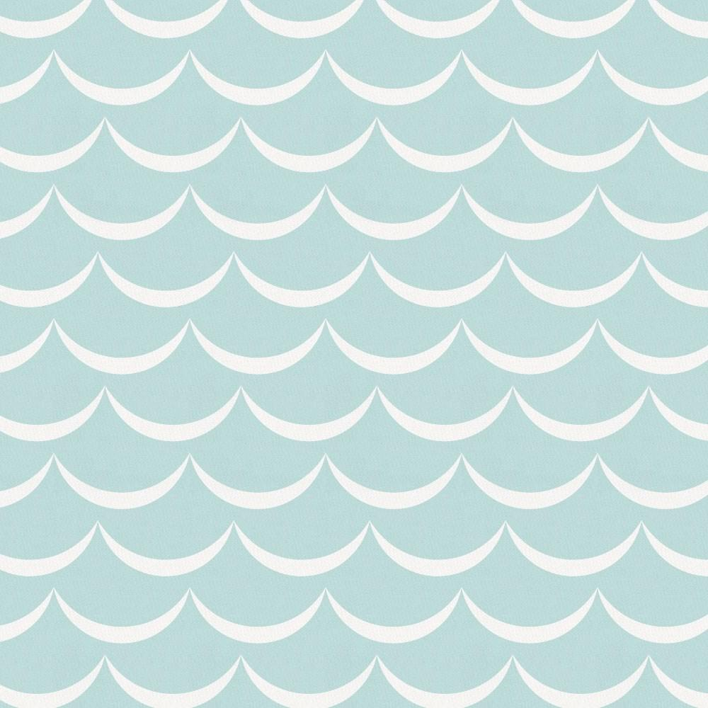 Product image for Mist Waves Crib Sheet