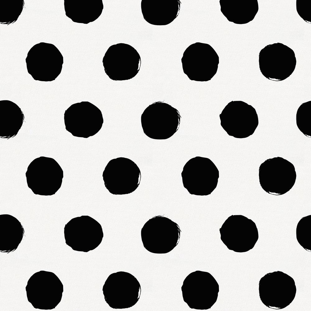 Product image for Onyx Brush Dots Baby Blanket