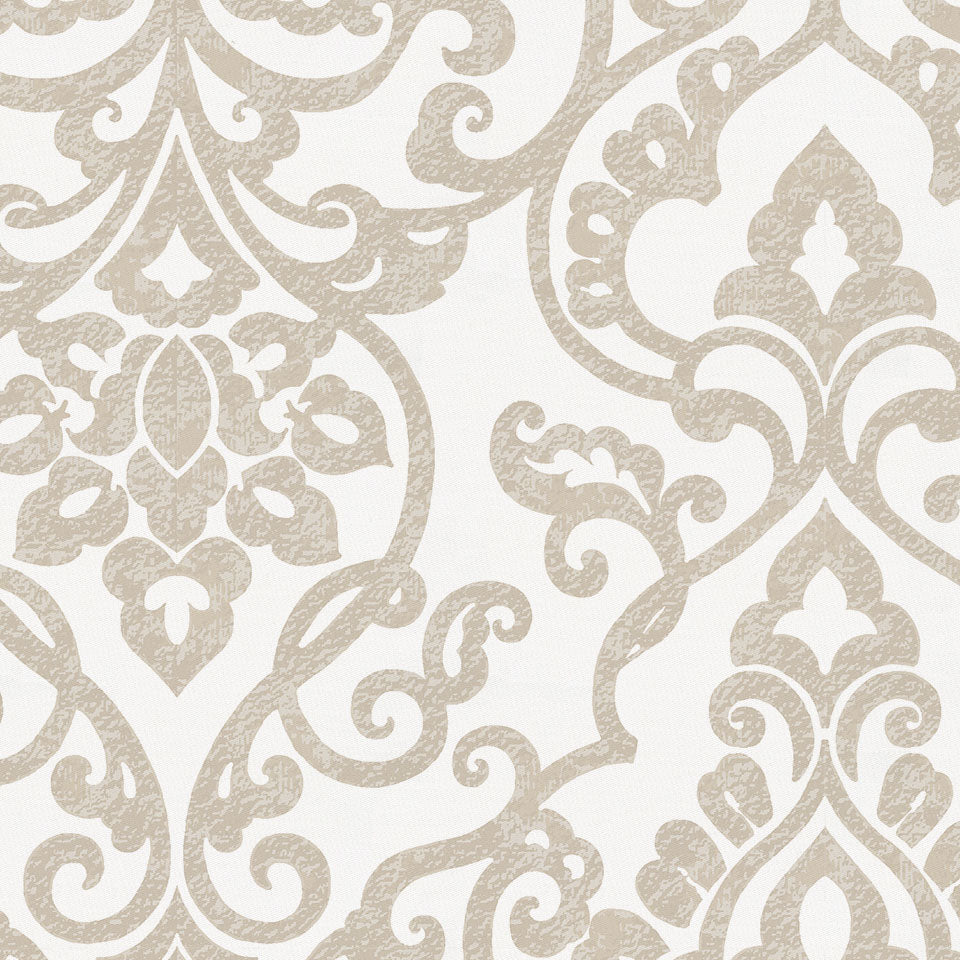 Product image for Taupe Filigree Baby Blanket