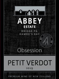 Abbey Estate Obession Petit Verdot 2019