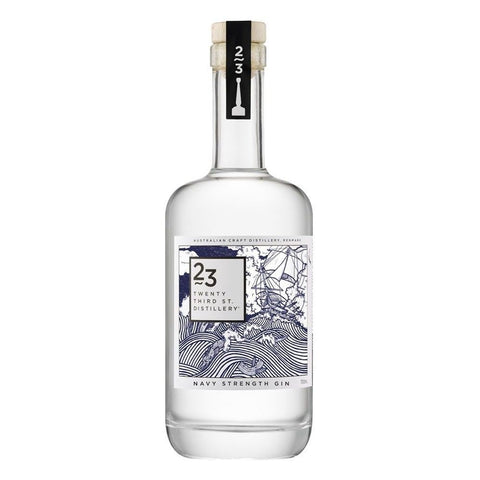 23rd Street Signature Navy Strength Gin 700mL