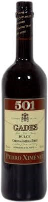 501 Gades Pedro Ximenez Sherry 750mL