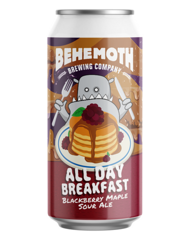 Behemoth 'All Day Breakfast Blackberry Edition' Sour Ale 440mL