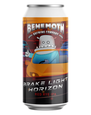 Behemoth Brake Light Horizon Red Rye IPA 440mL