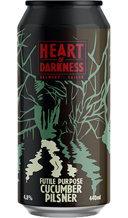 Behemoth x Heart of Darkness 'Futile Purpose' Cucumber Pilsner 440mL