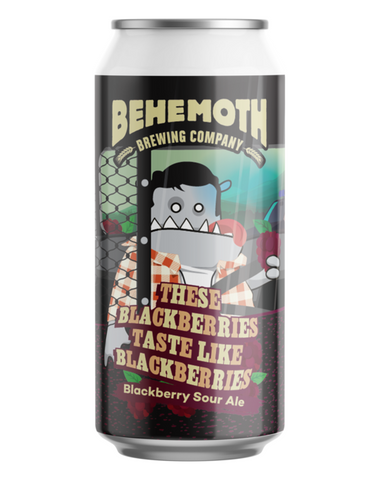 Behemoth 'These Black Berries Taste Like Blackberries' Sour Ale 440mL