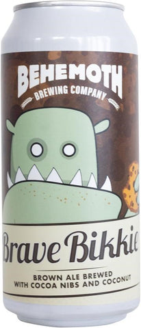 Behemoth Brave Bikkie Brown Ale 440mL