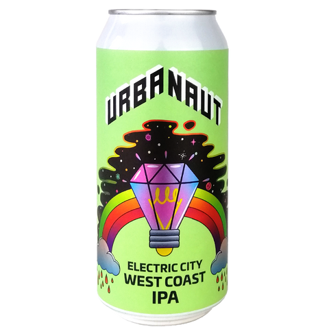 Urbanaut 'Electric City' West Coast IPA 440mL