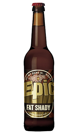 Epic Fat Shady Stout 330mL