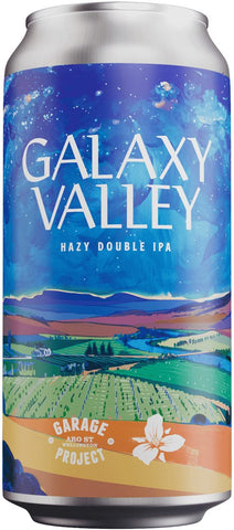 Garage Project 'Galaxy Valley' Hazy Double IPA 440mL