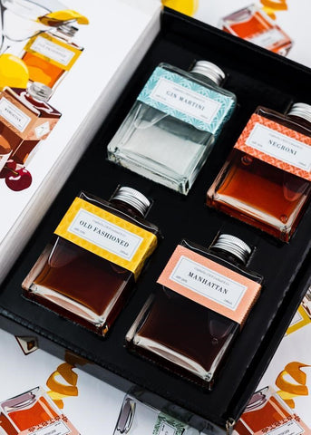 JMR Cocktails 'The Classics' Giftset 4x100mL