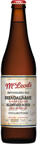 Mcleod's Smugglers Bay Breadalbane Barrel-aged Blended Sour 500mL