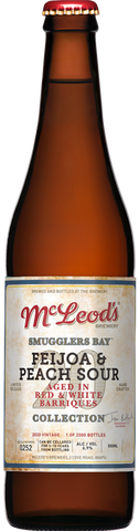 Mcleod's Smugglers Bay Feijoa & Peach Sour 500mL