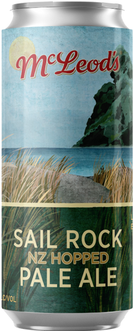 Mcleod's Sail Rock Pale Ale 440mL