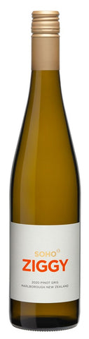 Soho White Collection 'Ziggy' Pinot Gris