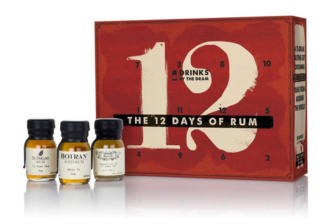 Drinks By The Dram '12 Rums Of Christmas' 12x30mL