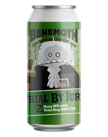 Behemoth Trial By Jury 2 Hazy IPA 440mL